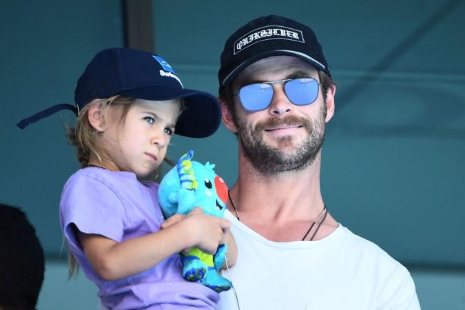 Chris Hemsworth and daughter India Rose Hemsworth