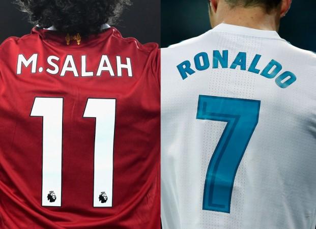 Cristiano Ronaldo and Mo Salah