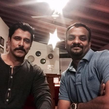 Chiyaan Vikram and RS Vimal