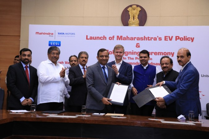 Mahindra signs MOUs with Government of Maharashtra
