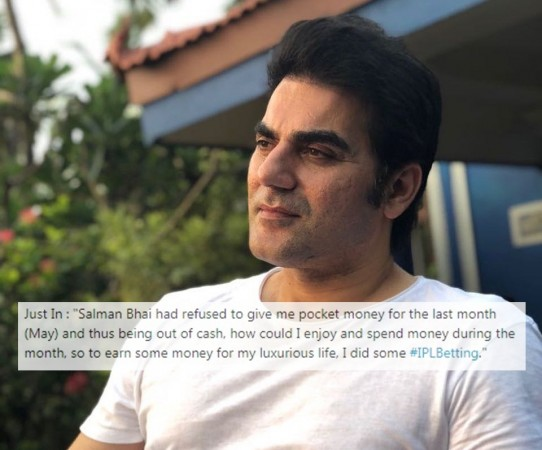 Arbaaz admits role in IPL betting