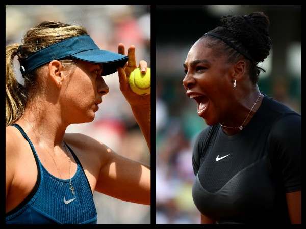 Maria Sharapova and Venus Williams