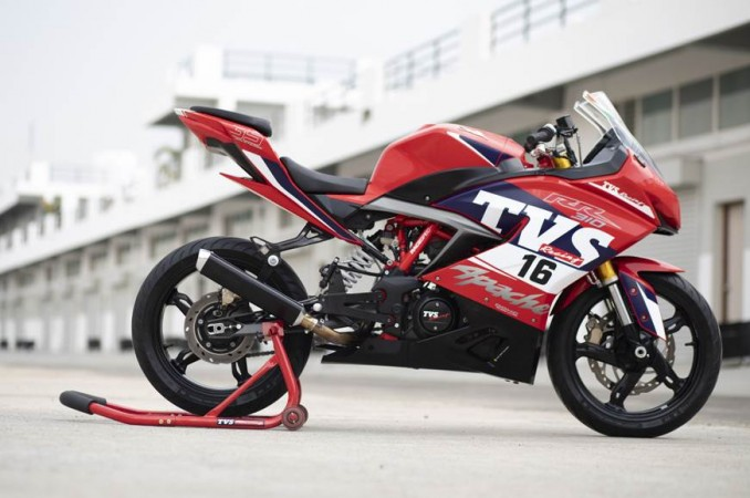 TVS Apache RR  310 race version