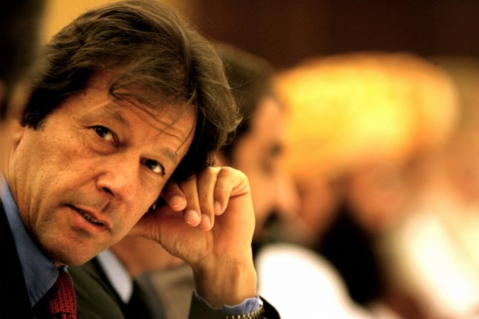 Cricketer-turned-politician Imran Khan