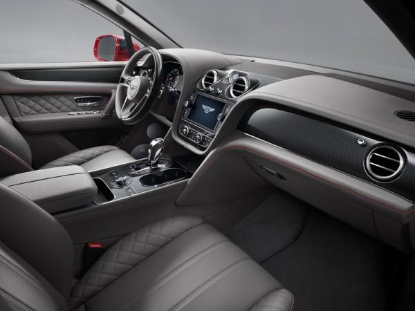 Bentley Bentayga V8- interior