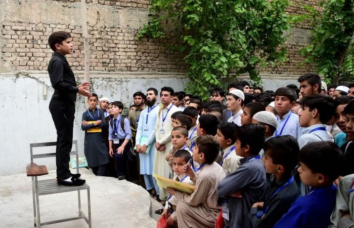11-year-old Pakistani motivational coach Hammad Safi