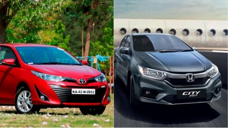 Toyota Yaris vs Honda City