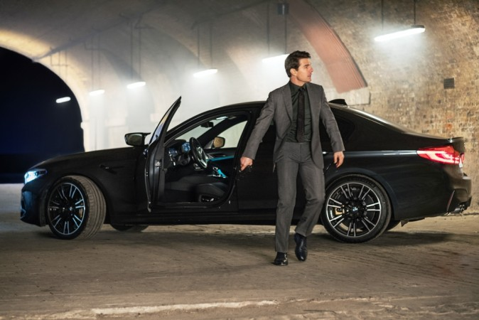 Tom Cruise with BMW M5