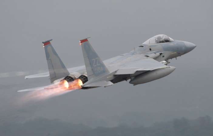 US F-15 fighter crashes into sea off Okinawa, pilot rescued