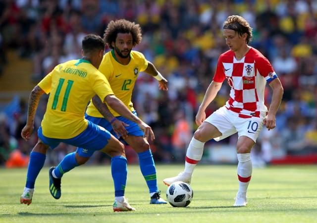 Coutinho Marcelo Brazil Modric Croatia