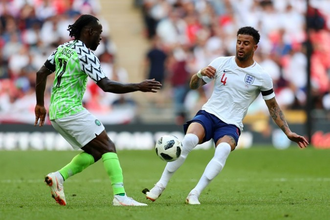 Kyle Walker England Victor Moses Nigeria