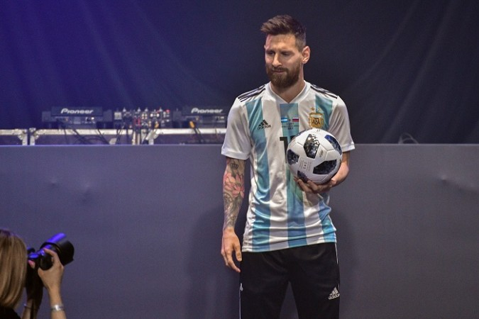 Lionel Messi World Cup 2018 ball