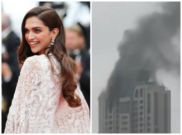 Deepika Padukone's building in Mumbai catches fire