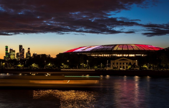 Luzhniki Olympic stadium in Russia