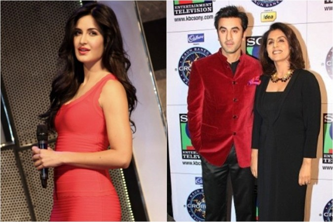 Katrina Kaif, Ranbir Kapoor, Neetu Kapoor
