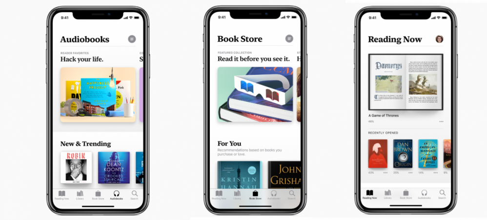 Apple Books, iBooks, Reading Now, The Book Store