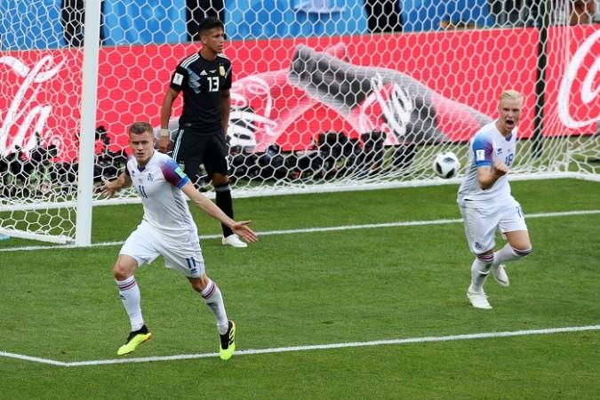 Alfred Finbogason Iceland Argentina