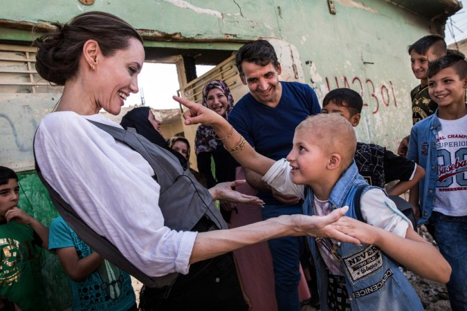 UNHCR Special Envoy Angelina Jolie in Mosul