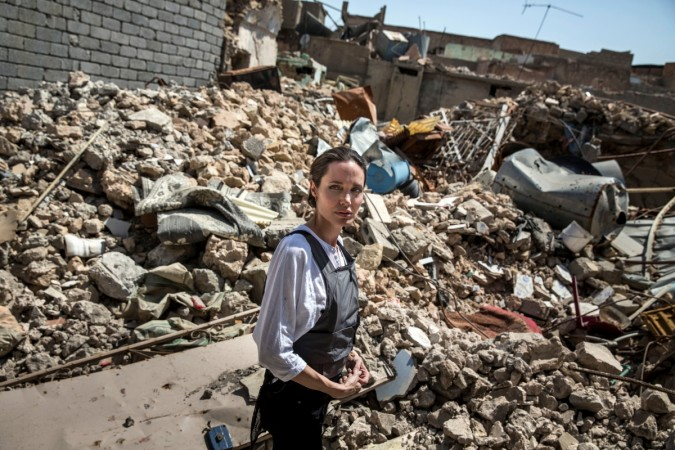 Angelina Jolie in Mosul