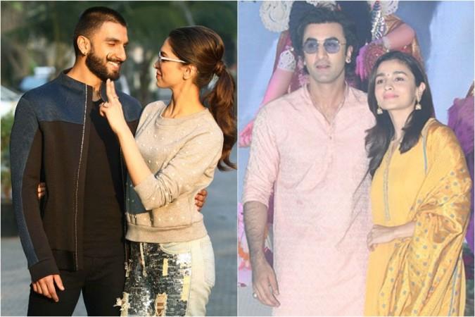 Ranveer Singh, Deepika Padukone, Ranbir Kapoor, Alia Bhatt