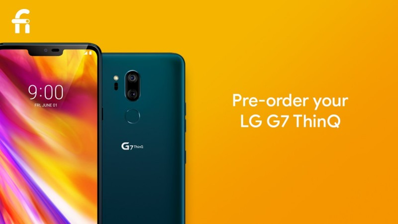 Project Fi Opens LG G7 ThinQ Pre-orders