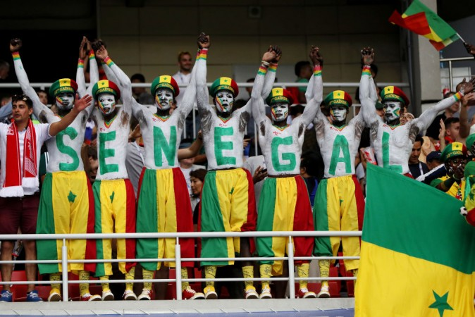 Senegal fans at Fifa World Cup