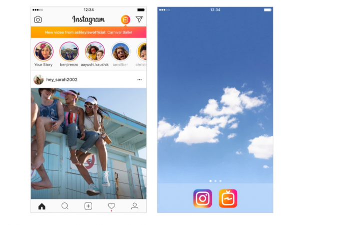 Facebook, Instagram IGTV, longer video content