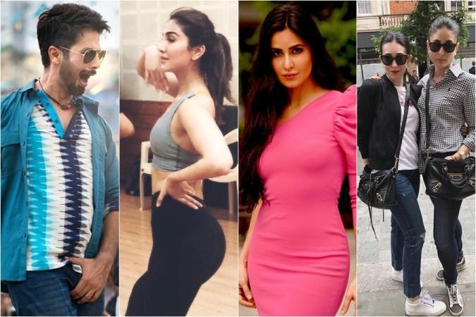 Shahid Kapoor And Katrina Kaif Kissing IIFA 2018: Vaan...