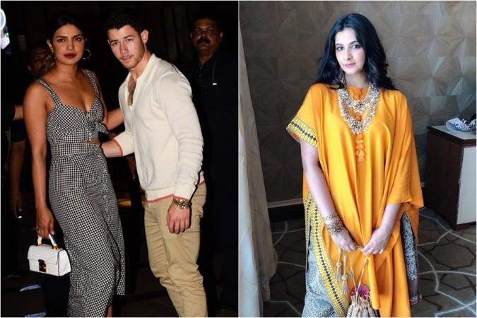 Priyanka Chopra, Nick Jonas, Rhea Kapoor