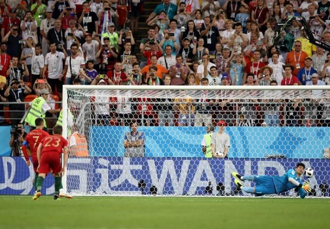 Cristiano Ronaldo Portugal Iran penalty