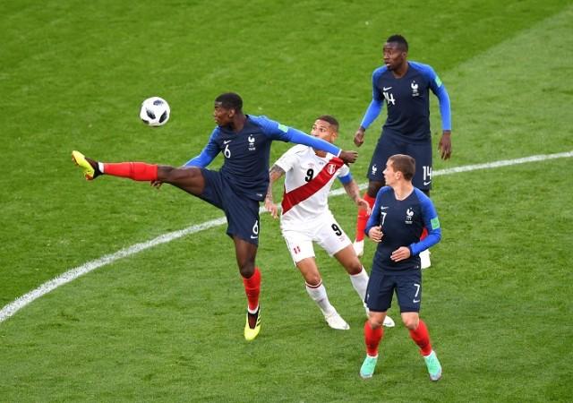 Paul Pogba Antoine Griezmann France