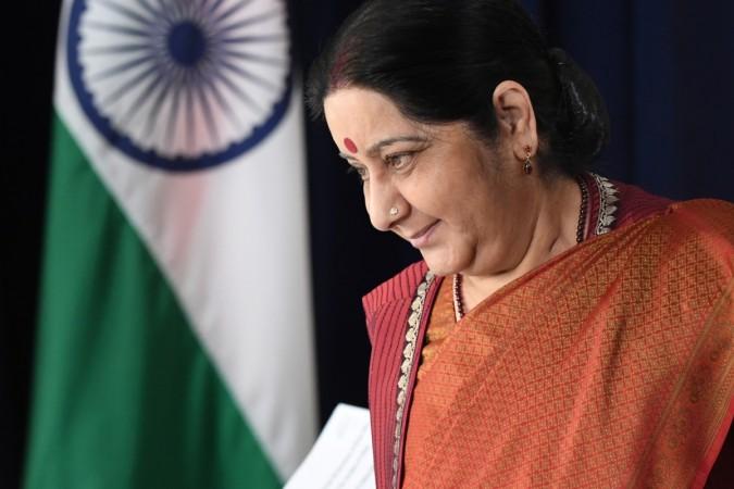 Indian External Affairs Minister Sushma Swaraj