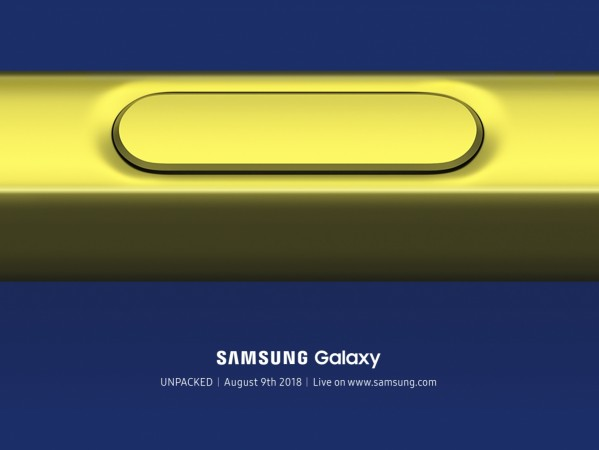 Samsung, Galaxy Note9, launch, Galaxy Note 9