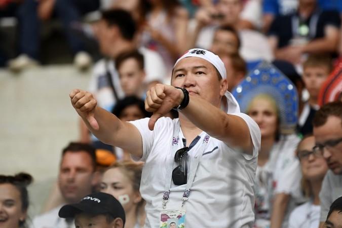 Japan fans Poland