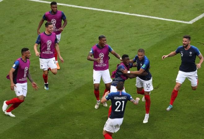 Kylian Mbappe France Argentina Olivier Giroud