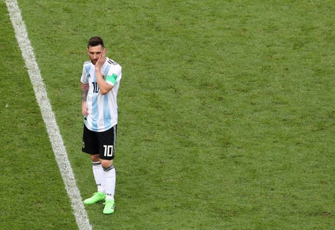 Lionel Messi Argentina France