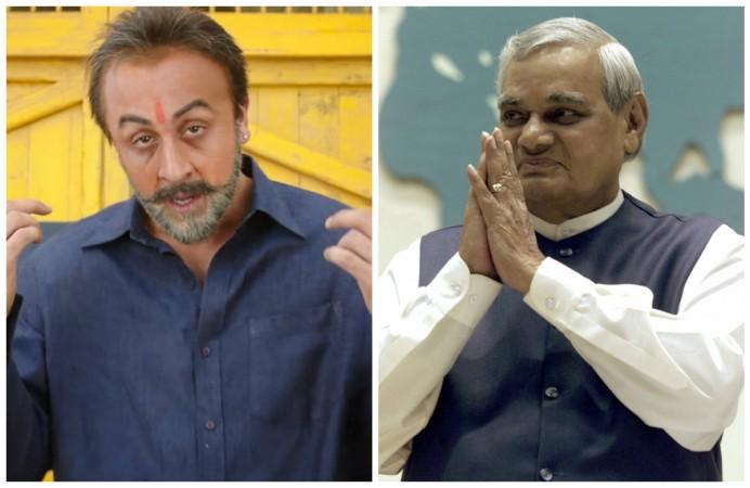 Did Sanju insult Atal Bihari Vajpayee?