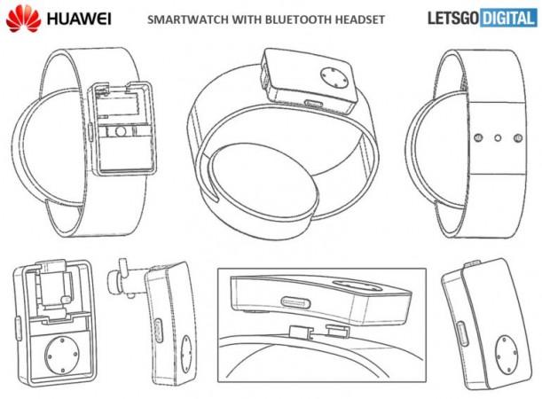 Huawei Watch patent filing