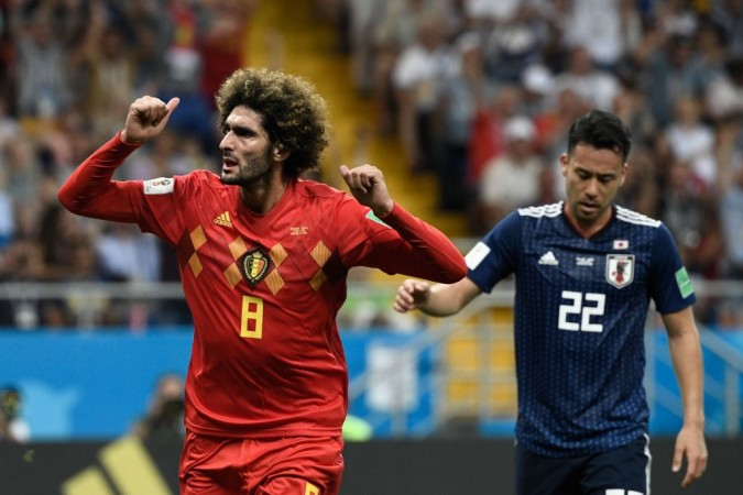 Fellaini Belgium World Cup 2018