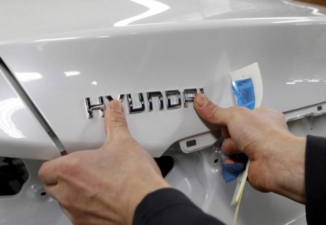 Hyundai motors logo