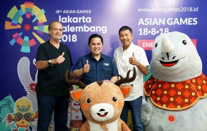 Mascots for the 2018 Asian Games