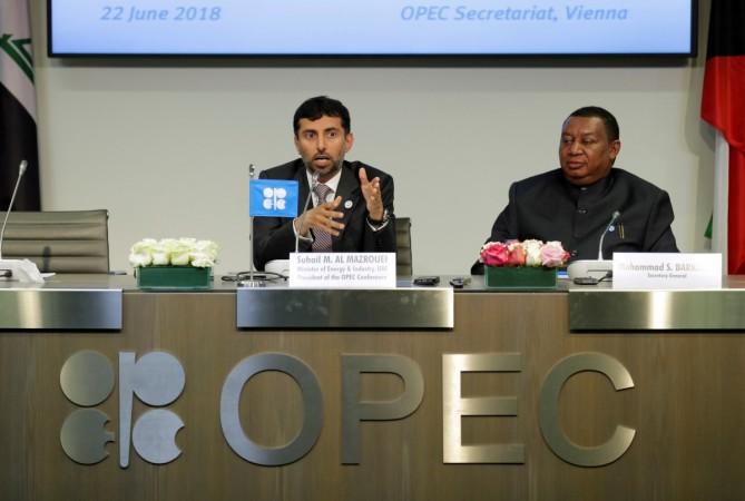 OPEC President Suhail Mohamed Al Mazrouei