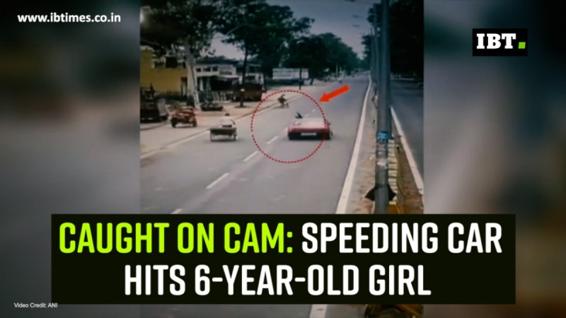 Caught on cam: Speeding car hits 6-year-old girl