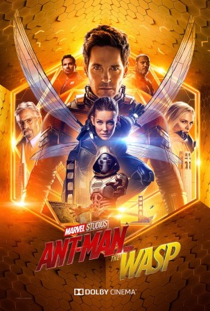 Art for the movie, Ant Man and the Wasp