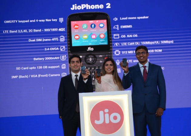 JioPhone 2 launched at Rs 2,999