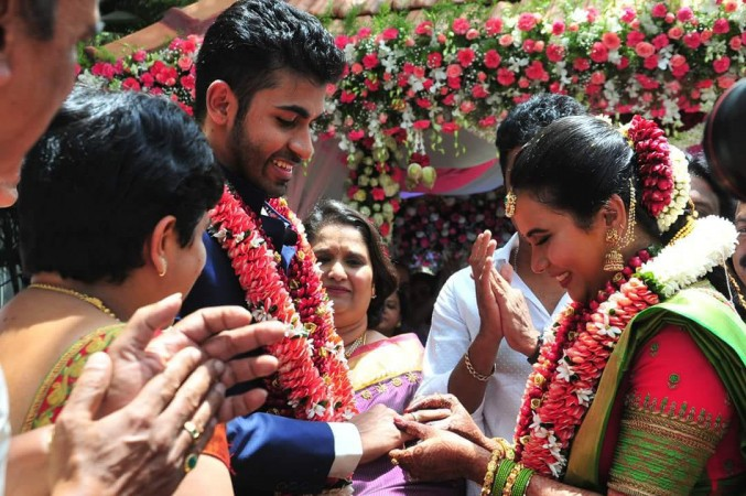 Gururaj aka Yuva Rajkumar engagement
