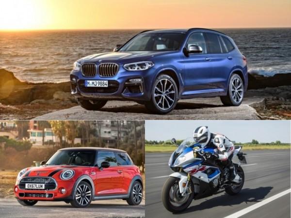 BMW Group vehicles