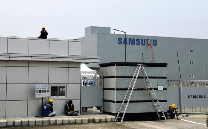Samsung's mobile factory in Noida