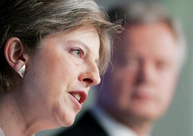 Theresay May and David Davis