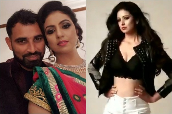 Indian cricketer Mohammed Shami with his wife Hasin Jahan